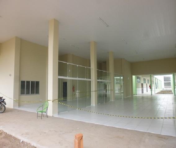 Vista da entrada principal  Campus Grajaú